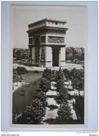 Paris En Flanant  L'Arc De Triomphe De L'étoile Circulée 1953 Yvon - Arc De Triomphe