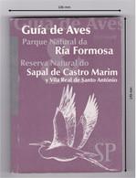 Portugal 1999 Guide Ornithologique Du Parc Naturel Bird Guide Ria Formosa Natural Park Réserve Naturelle Castro Marim - Dictionaries
