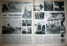 Zo Leeft Langdorp Met Wolfsdonk (17.11.1955) Langdorp Is Een Deelgemeente Van Aarschot In De Provincie Vlaams-Brabant. - Revistas & Periódicos