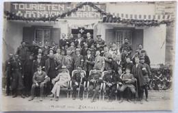 ZERMATT - Touristen-Hotel & Pension Perren - Rare CPA Photo Du 14 Juillet 1916 - VS Valais