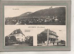 CPA - (68) LEYMEN - Carte Multivues ( 3 Vues ) Des Années 20 - Gare Et Restaurant Bertélé - Other Municipalities