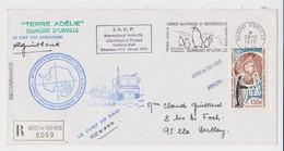 TAAF - Dumont D'urville - EPF -  Paul Emile Victor - IAGP - 3ème Raid - Guillard - Renard - Lettres & Documents