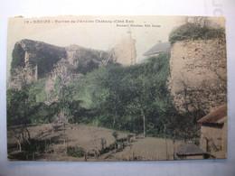 Carte Postale Decize (58) Ruines De L'ancien Chateau (Petit Format Noir Et Blanc Non Circulée ) - Decize