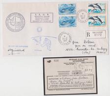 TAAF - Dumont D'urville - EPF -  Paul Emile Victor - IAGP - Forage- Guillard - - Lettres & Documents