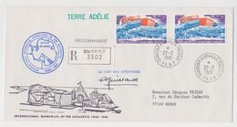 TAAF - Dumont D'urville - EPF -  Paul Emile Victor - Cachet Biomedical - Guillard - Lettres & Documents