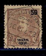 ! ! Inhambane - 1903 D. Carlos 50 R - Af. 21 - Used - Inhambane