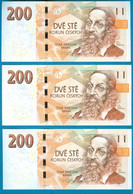 Czech Republic 200 Korun 2018 UNC ( Price For 1 Banknote ) - Tschechien