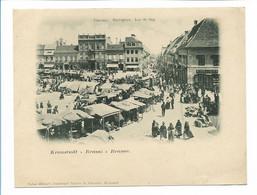 C3984/ Kronstadt Brasov Rumänien Große AK 17,3 X 13,5 Cm Ca.1900 - Rumania