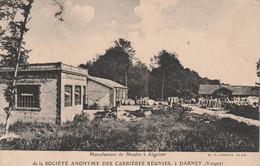 Darney - Manufacture De Meules à Aiguiser - Scan Recto-verso - Darney