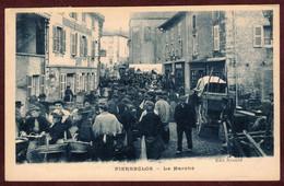Pierreclos  Le Marché Animé  * Saône-et-Loire 71960 * Arrondissement  De Mâcon - Altri Comuni