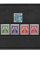 926 - Boheme Et Moravie -lot De Timbres Journal Et Services - Usados