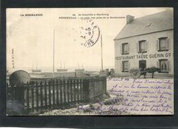 CPA - REGNEVILLE - Le Port, Vue Prise De La Gendarmerie - Restaurant Tasse Guérin - Attelage  (dos Non Divisé) - Other Municipalities