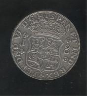 Fausse 8 Réales Guatemala 1757 - Tranche En Relief - Exonumia - Guatemala
