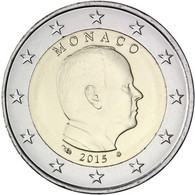 2015 Monaco 2 Euro Coin Used - Monaco