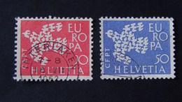 Switzerland - 1961 - Mi:CH 736-7, Sn:CH 410-1, Yt:CH 682-3 O - Look Scan - Usados