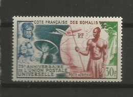 Timbre De Colonie Francaises Cote Des Somalis En Neuf ** P-a  N 23 - Ohne Zuordnung