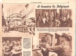 Guerre-1940-1945-A Travers La Belgique-Ostende-Armée Secrète-Frères Gilson, Beauraing-Vielsalm-Le Patriote Illustré 1946 - 1900 - 1949
