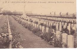Carte Postale ROCLINCOURT (environs D'Arras), Military British Cemetery, Cimetière Militaire Anglais - Arras