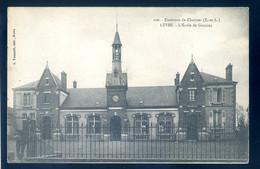 Cpa Du 28 Lèves L' école De Garçons -- Environs De Chartres  NOV20-22 - Lèves