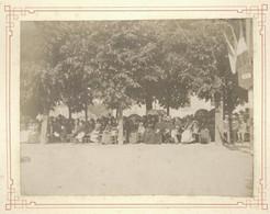 Photo Originale XIXème 50 Manche Course Cycliste Vélocipédique Saint-Lo Normandie 1890 - Old (before 1900)