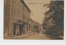 GAGNIERES - La Poste - Other Municipalities