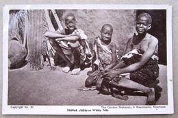 African Children Huts Sudan - Sudan