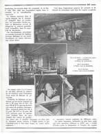 ARTICLE 1932 Mines De Potasse D'Alsace Géologie  Mulhouse Wittelsheim 68 3,5 Pages 6 Photos - Non Classés
