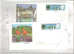 France, Prêt à Poster, 3783, Lot 6 PAP, Neuf **, TTB, Bretagne, Golfe Du Morbihan - PAP : Altri (1995-...)
