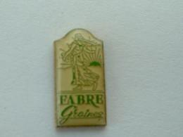 PIN'S GRAINES FABRE - SEMEUSE - Marques