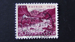 Switzerland - 1954 - Mi:CH 599, Sn:CH B234, Yt:CH 550, O - Look Scan - Usados