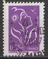 (!)  Timbre FRANCE De 2006 Marianne De Lamouche Y&T N° 3968 Oblitéré - Used Stamps