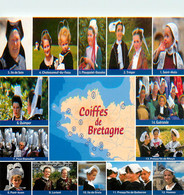 CPSM Coiffe De Bretagne-Multivues       L31 - Bretagne