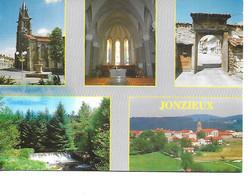 42 JONZIEUX  Cpm Multivues - Autres Communes