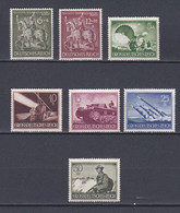 Empire IIIe Reich 1943  Y&T N ° 779  780  793  796  798  802  803 Neuf  ( Sans Gomme ) - Neufs