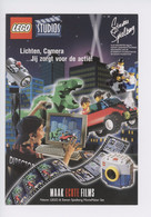 Légo Studios - Stephen Spielberg : Lichten Camera.... Cinéma - Pubblicitari
