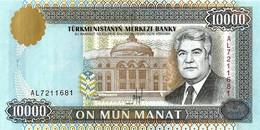 TURKMENISTAN 1996 10000 Manat - P.10 Neuf UNC - Turkmenistan