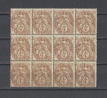 FRANCE.  YT  N° 110  Neuf **/*  1900  (voir Détail) - 1900-29 Blanc