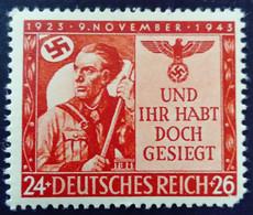 Allemagne Germany Deutschland 1943 Yvert 782 ** MNH - Ungebraucht