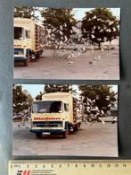 Warsteiner LKW Reisetauben Kabinen-Express/ 2 Fotos 1984 - Auto's