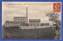 CPA 54 BASSIN MINIER DE BRIEY - TRIEUX - Puits D'extraction De Minerai De Fer - Société Marc Raty Et Cie (Saulnes) - Sonstige Gemeinden