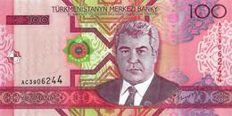 TURKMENISTAN 2005 100 Manat - P.18 Neuf UNC - Turkmenistan