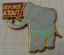 MAGAZINE  REPONSE A TOUT !    L' ELEPHANT GRIS En Version BALLARD - Medien