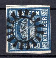 BAVIERE - (Royaume) - 1861-62 - N° 11 - 6 K. Bleu - (Cercle Régulier) - Bayern (Baviera)