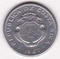 Costa Rica 10 Centimos 1967, En  Acier Inoxydable, KM# 185.1a - Costa Rica