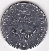 Costa Rica 2 Colones 1983, En En Acier Inoxydable, KM# 211 - Costa Rica