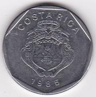 Costa Rica 5 Colones 1985, En En Acier Inoxydable, KM# 214 - Costa Rica