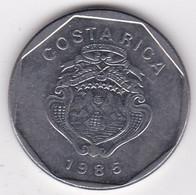 Costa Rica 10 Colones 1985, En En Acier Inoxydable, KM# 215 - Costa Rica