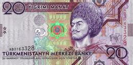 TURKMENISTAN 2009 20 Manat - P.25a Neuf UNC - Turkmenistan