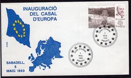 España - FDC - 1983 - Inauguració Del Casal D'europa - A1RR2 - FDC