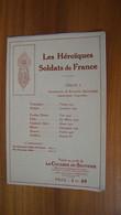 Les Héroïques Soldats De France - Série 1 - La Cocarde Du Souvenir - Sin Clasificación